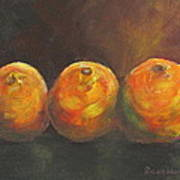 For The Love Of Three Oranges Art Print