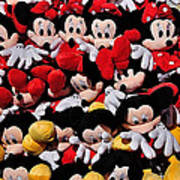 For The Mickey Mouse Lovers Art Print