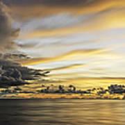 Forbidding Clouds Art Print