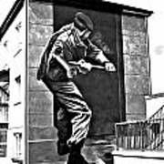 Forced Entry Derry Mural Art Print