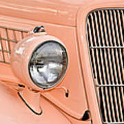 Ford Classic In Salmon Art Print