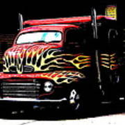 Ford Coe. Art Print