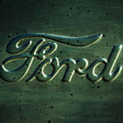 Ford Emblem -0113c Art Print