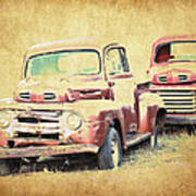 Ford F1 Art Print