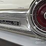 Ford Fairlane 500 Emblem Art Print