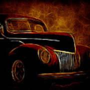 Ford Glow Art Print