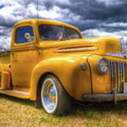 Ford Jailbar Pickup Hdr Art Print by Phil 'motography' Clark