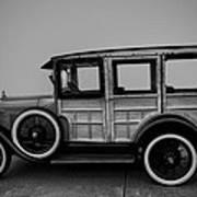Ford Model A Station Wagon 1930 Art Print