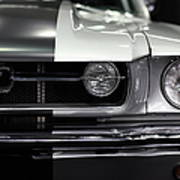 Ford Mustang Fastback - 5d20342 Print by Wingsdomain Art and Photography