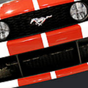 Ford Mustang - This Pony Is Always In Style Art Print