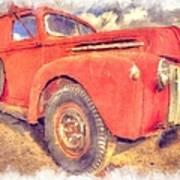 Ford Panel Truck Art Print