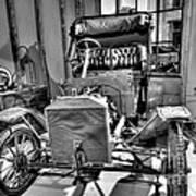Ford Parts Art Print