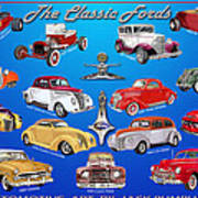 Another Ford Poster Art Print
