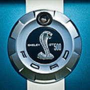 Ford Shelby Gt 500 Cobra Emblem Art Print