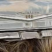 Ford Tail Lights 2 Art Print