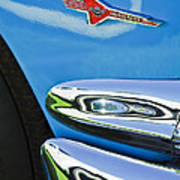 Ford Thunderbird Emblem -0505c Art Print