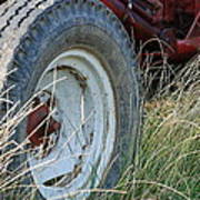 Ford Tractor Tire Art Print