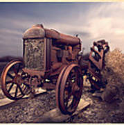 Fordson F Tractor Art Print