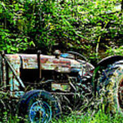 Fordson Major Diesel Art Print by Robert J Andler