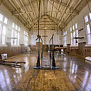 Fordyce Bathhouse Gymnasium - Hot Springs - Arkansas Art Print