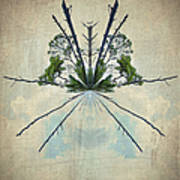 Forest Bouquet Wee Planet Art Print