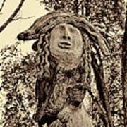 Forest Gardian Art Print