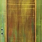 Forest Painted Door Art Print