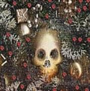 Forest Skull Pop Art Art Print