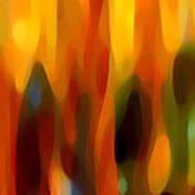 Forest Sunlight Horizontal Art Print