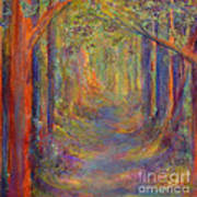 Forest Tunnel Art Print