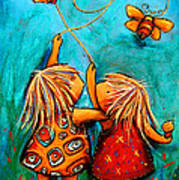 Forever Friends Art Print by Karin Taylor