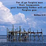 Forgive Men  Art Print