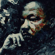 Martin Luther King -Forgiveness Is Not An Occasional Act It Is A Constant Attitude Art Print