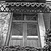 Forgotten Balcony Art Print