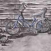 Forgotten Banana Seat Bike Art Print