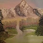 Forgotten Falls Art Print