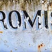 Forgotten Promise Art Print