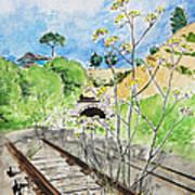 Forgotten Railway Art Print
