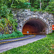 Fork Mountain Tunnel Art Print