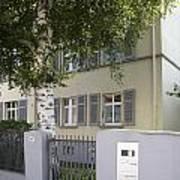 former home of Anne Frank Marbachweg Frankfurt am Main Germany Art Print
