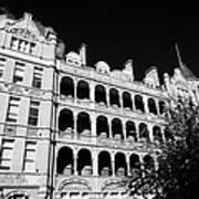 former royal waterloo hospital for children now dormitories for university of notre dame London Engl Art Print
