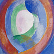 Formes Circulaires Art Print