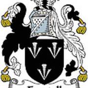 Forstall Coat Of Arms Irish Art Print