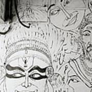 Cochin Graffiti Art Print