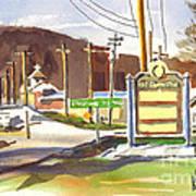 Fort Davidson Memorial Pilot Knob Missouri Art Print