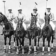 Fort Hamilton Polo Team Art Print