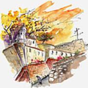 Fort In Valenca Portugal 02 Art Print