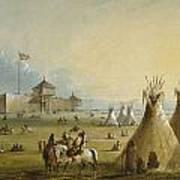 Fort Laramie Art Print