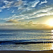 Fort Lauderdale Beach At Sunrise Art Print