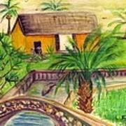 Fort Lauderdale Manistee Art Print